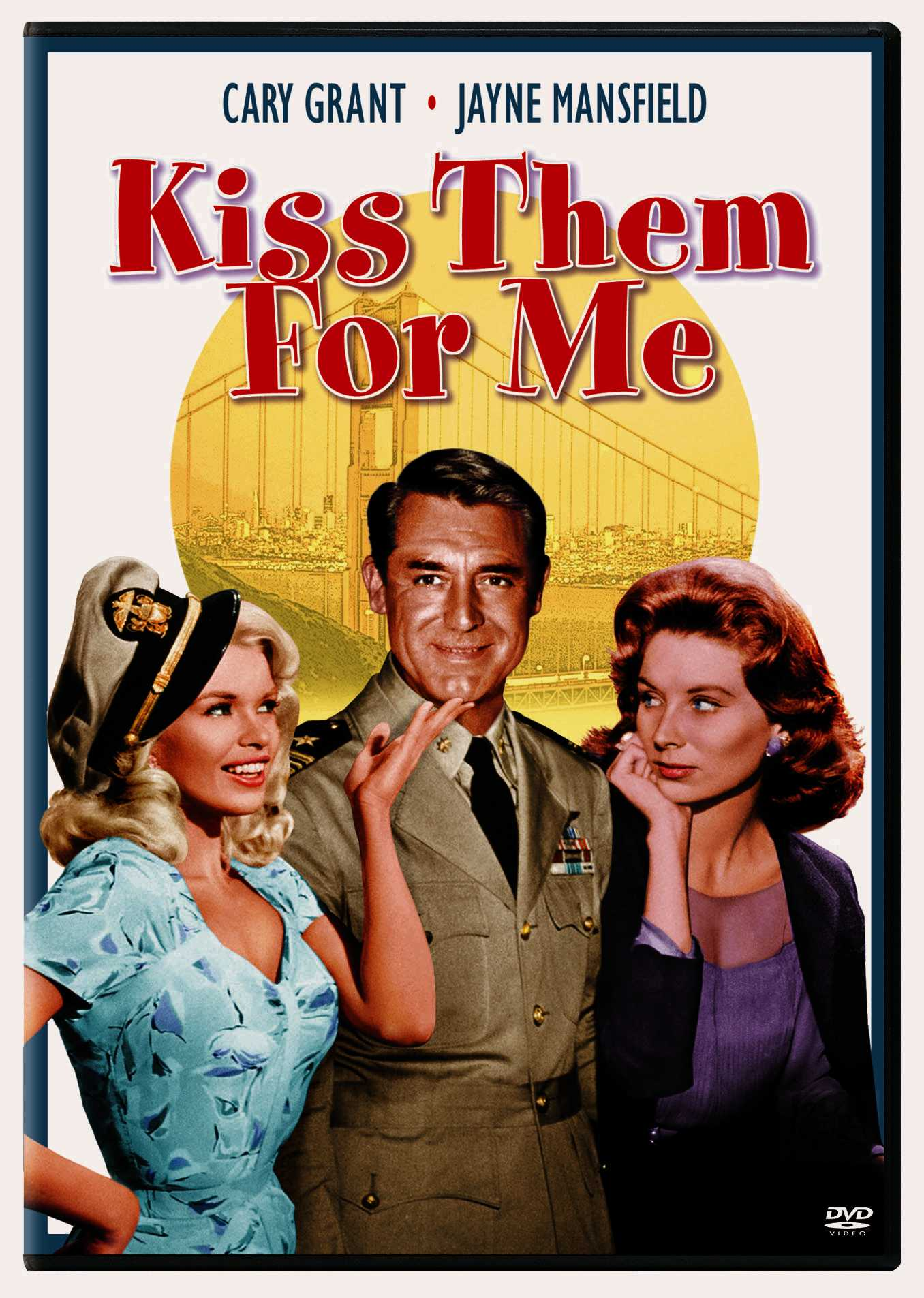 KISS THEM FOR ME BY GRANT,CARY (DVD)
